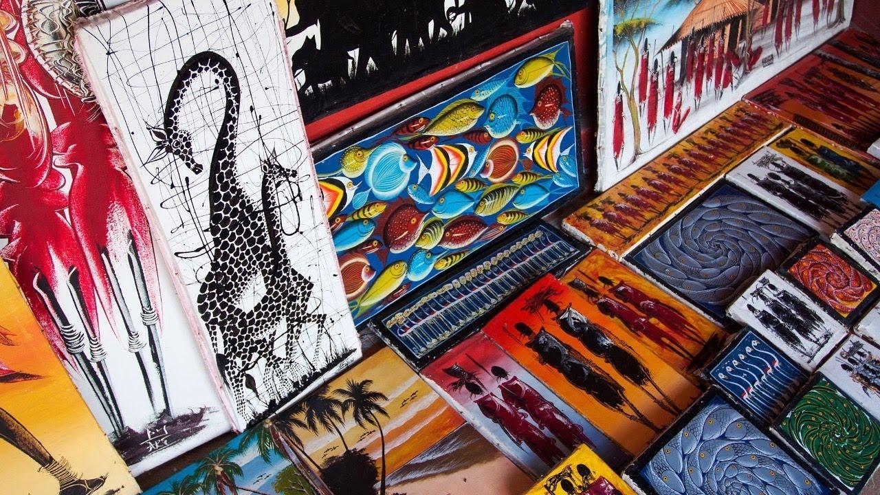 Искусство тингатинга: красота по-африкански