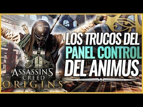 Assassin's Creed Origins | Los TRUCOS DEL JUEGO - Cómo funciona el Panel de control del Animus 1.50
