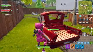 Fortnite Battle Royale - Getaway win w/Luigi, Jerome and Tyler