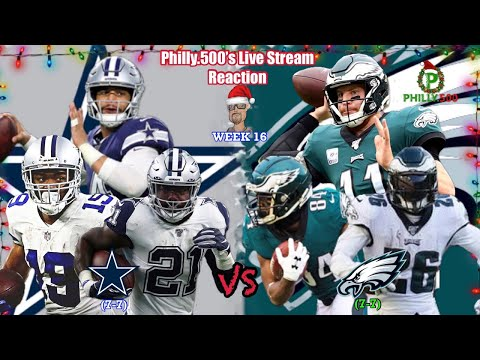 Cowboy Vs Eagles   Live Stream Reaction   Week 16   NFC East On The Line