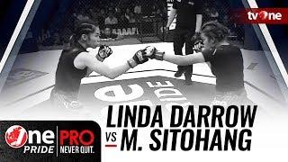 [Full HD] Linda Darrow vs Melpida Sitohang - One Pride MMA - Woman Strawweight Championship