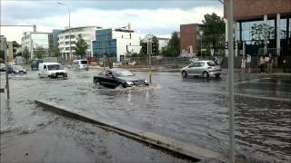 Unwetter rostock - juni 2012