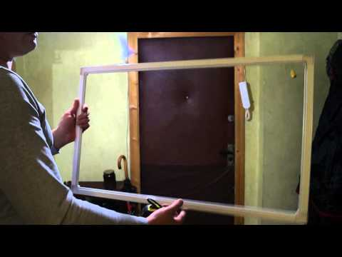 видео: Ремонт окон. Изготовление москитной сетки.