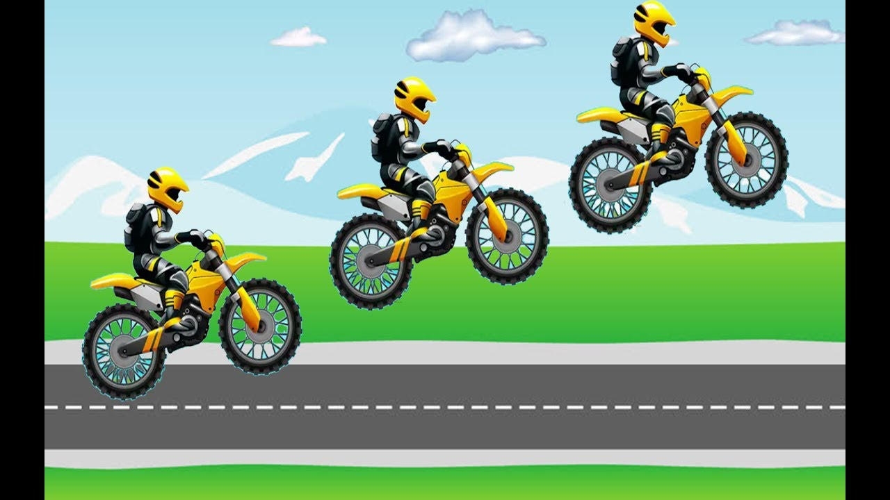 Motorcycle Games For Kids, Motorcycle Game Show, Bike Games Videos ...