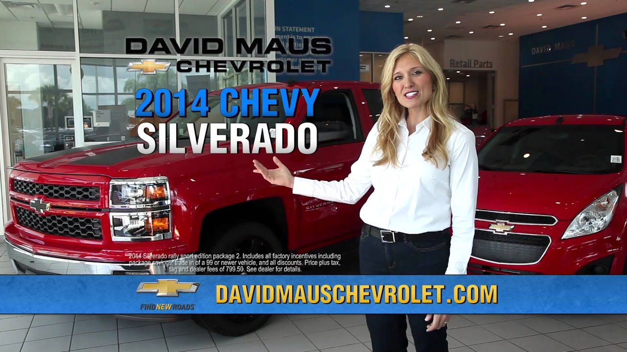 David Maus Chevy >> David Maus Chevrolet Commercial Oct 2014