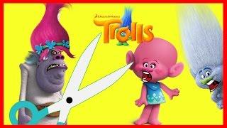 Bergen Villain Chef Wears Poppy's Hair from the Trolls Movie Part 4 | Ellie Sparkles