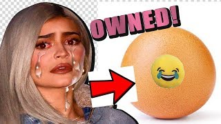 Kylie Jenner gets OWNED by an EGG LOL instagram most liked EVER EPIC
