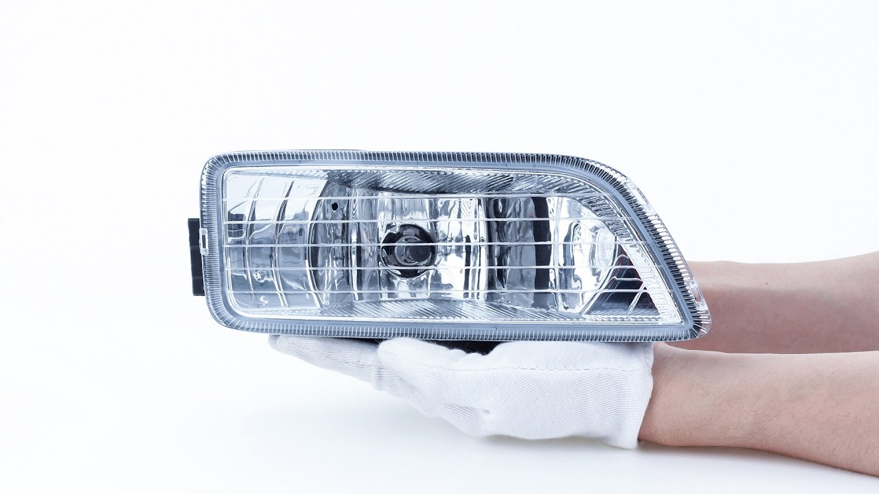 hight resolution of clear fog light assembly black for 2006 2007 honda accord inspire 4drs partsam