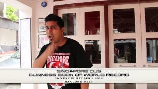 Singapore DJs Guinness Book of World Records (2nd Dry Run)
