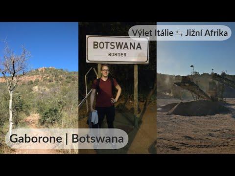 Gaborone, Botswana | Hlavní město, Kgale Hill a důl na štěrk