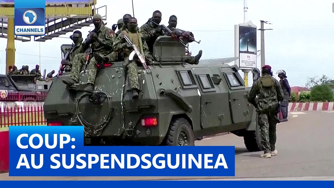 Download African Union Suspends Guinea's Membership After Coup   Network Africa