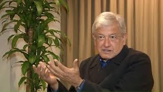 EXCLUSIVA entrevista con AMLO en Noticieros Televisa