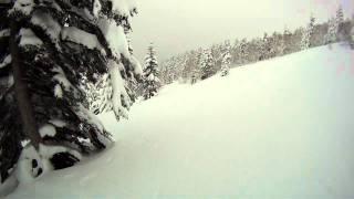 20111230富良野岳オーバーヘッド