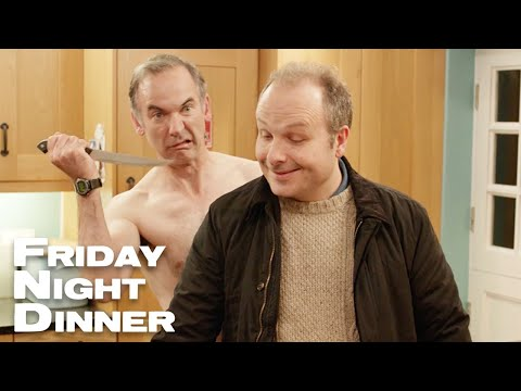 Leaving Mr Greencock Home Alone   Friday Night Dinner