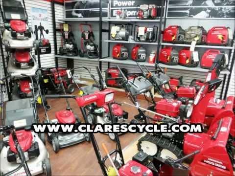 CLARE'S CYCLE HONDA POWER EQUIPMENT