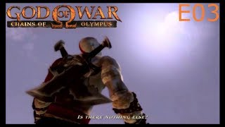E03 Kratos Breaks the Sun Let's Play God of War Chains of Olympus Blind