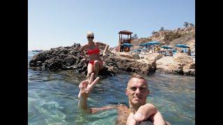 Кипр #3. Пляж Коннос бэй, пляж Афродиты, отель TOXOTIS, церковь пророка Ильи.