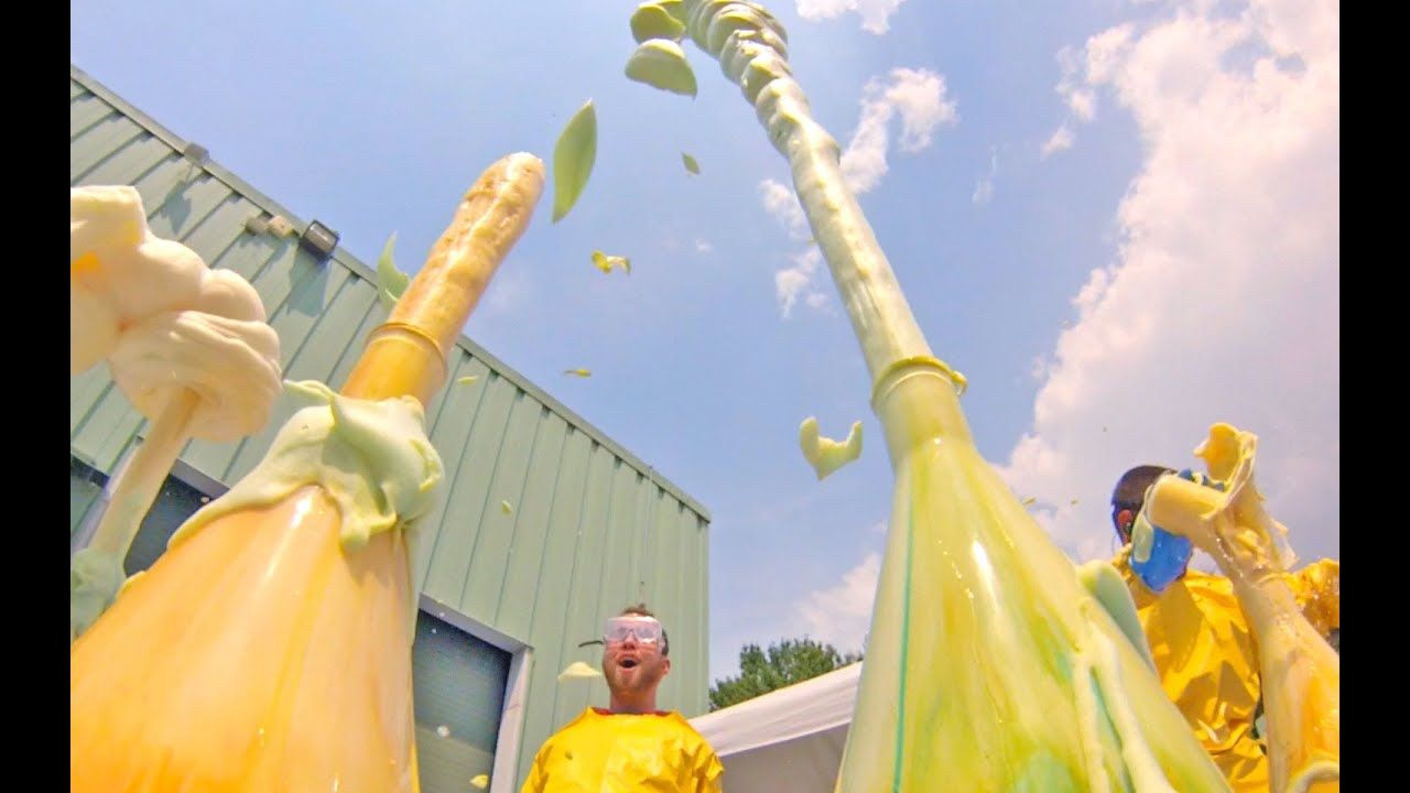 Elephant's Toothpaste (4th of July) - YouTube