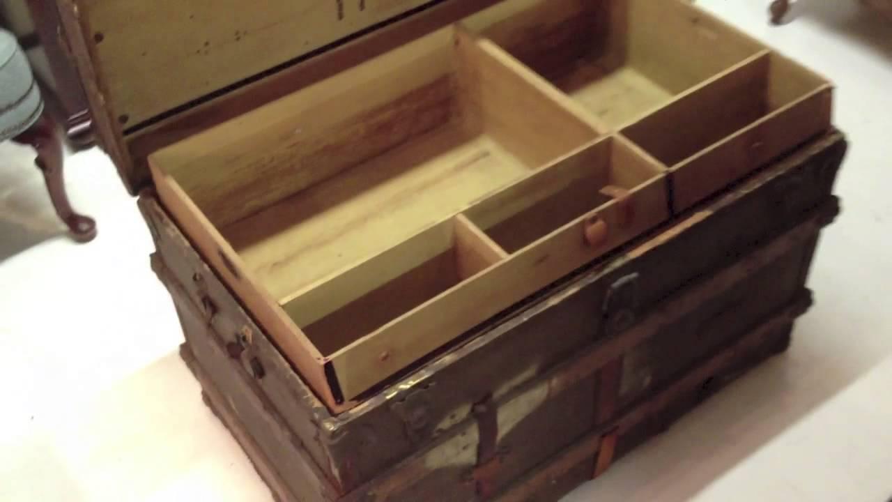 Baul antiguo youtube - Restaurar baules antiguos ...