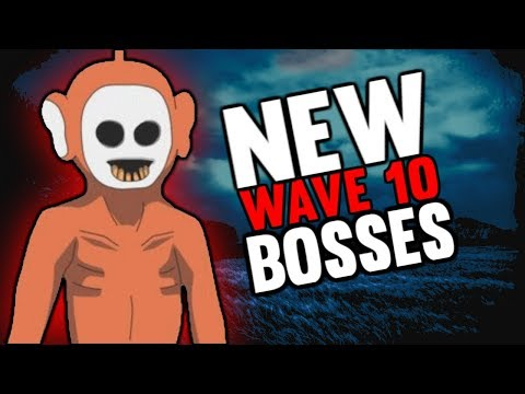 NEW WAVE 10 BOSSES!! | Slendytubbies 3 Survival