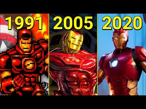 Evolution Of Iron Man In Games 1991-2020