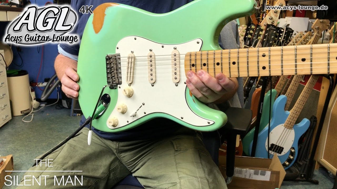 Fender Strat with AGL HSS Solo Wiring - YouTube