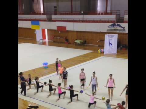 Trainig camp in Czech Republic with Academy of Irina Viner, Russia. I session, II day.