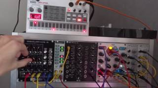 4ms peg vs volca sample clock clock hacking and smart dub chords