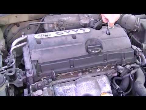 how to change ignition coil hyundai accent