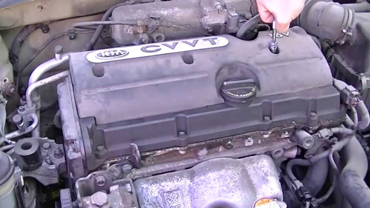 maxresdefault change ignition coils on a 2008 kia rio youtube kia sportage wiring diagram pdf at 2010  [ 1280 x 720 Pixel ]