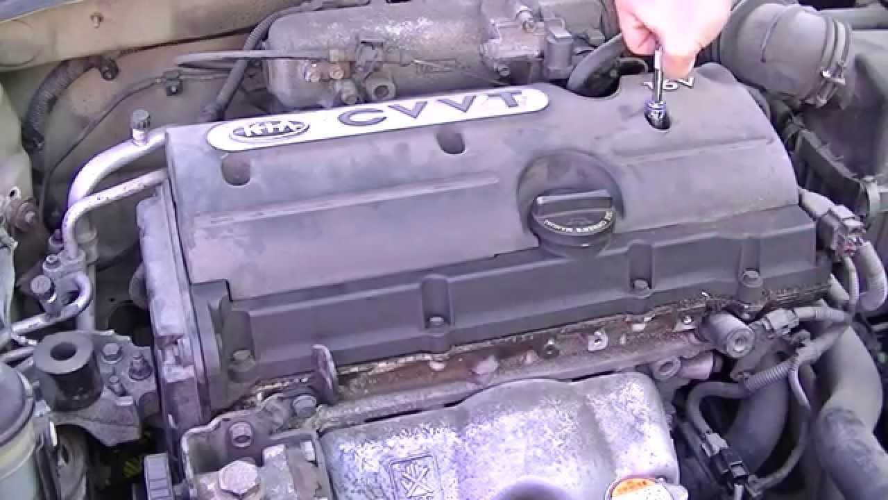 Change Ignition Coils On a 2008 Kia Rio  YouTube