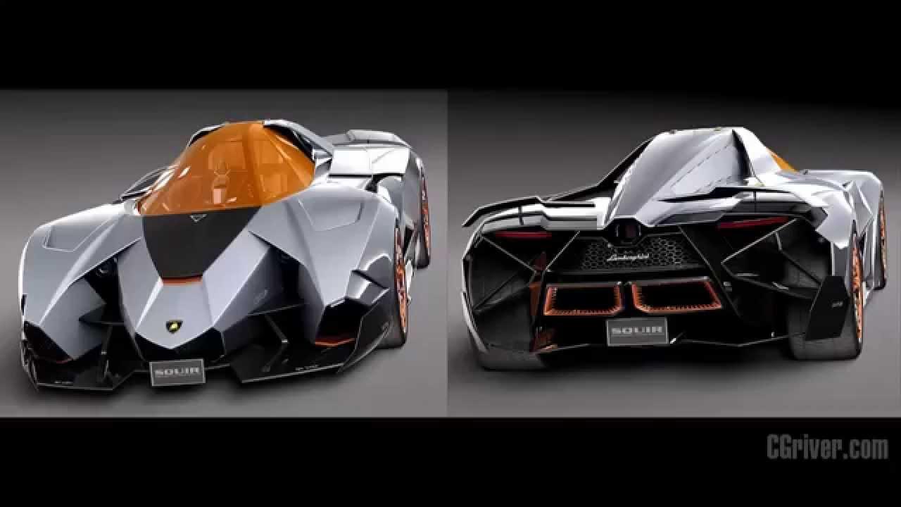 3d Model Lamborghini Egoista Concept 2013 Cgriver Com