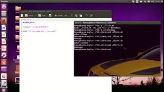 2 - Les variables langage Script Bash linux