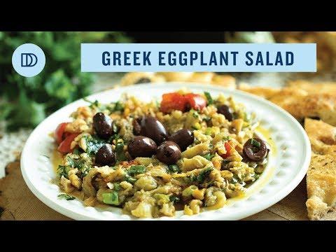 MELITZANOSALATA: Greek Style Eggplant Salad