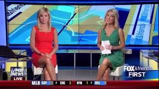 Ainsley Earhardt & Heather Childers 07-25-14