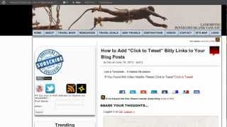 How to Add Click to Tweet Bitly Links to Your Blog Posts thumbnail