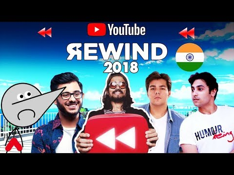 Youtube rewind india 2018  EDITION      Tseries vs pewdiepie    slayy points    angry prash