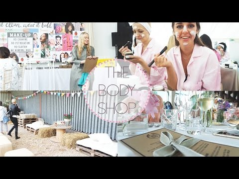 The Body Shop Event - Follow me around   Lovethecosmetics