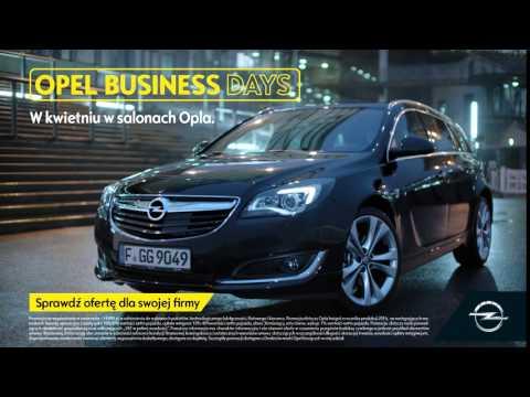 Zaawansowane Szybki Automat w Oplu Insignia. Opel Business Days | Dixi-Car SI57