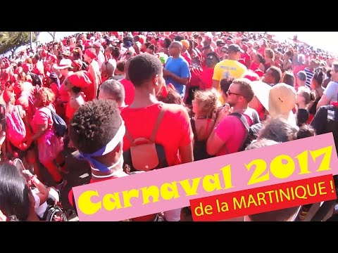 Carnaval Martinique 2017 - Mardi Gras à Fort-de-France en Live !