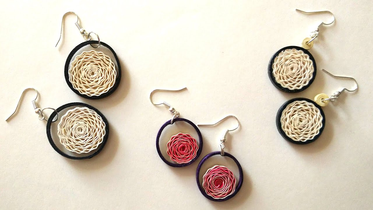 international rising earrings art product thread