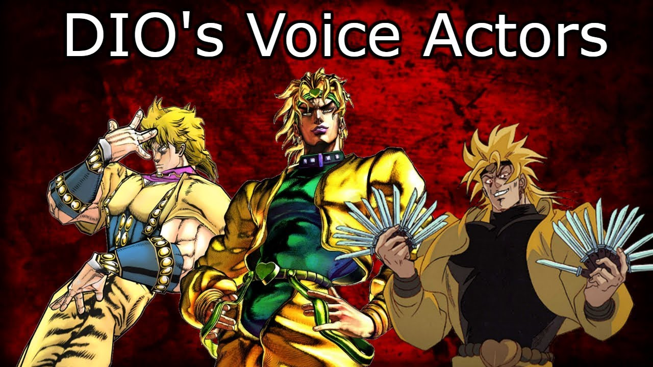 DIO's Voice Actors