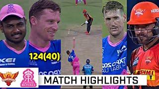 Rajasthan royals vs Sunrisers hyderabad Full Match Highlights, RR VS SRH Full Highlights,Joss Butler