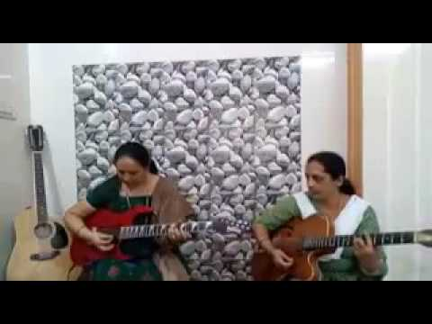 Indian aunties playing amazing guitar