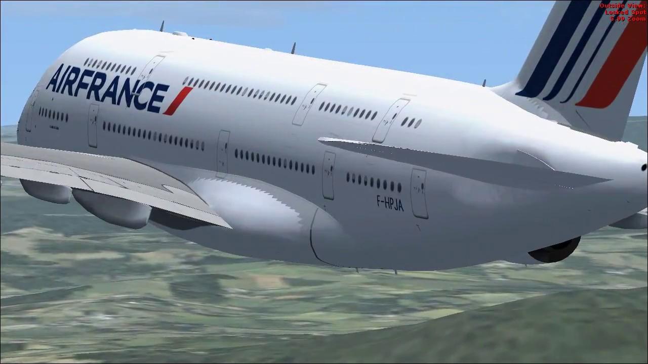 Air France - Airbus A380-800 - FSX MOD (DOWNLOAD)