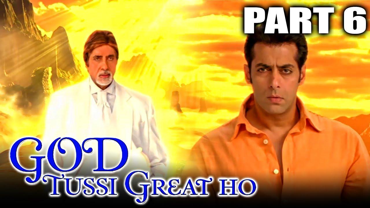 Download God Tussi Great Ho(2008)Part 6 Superhit Comedy Movie |Amitabh Bachchan, Salman Khan,Priyanka Chopra