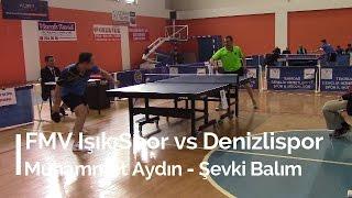 Muhammet AYDIN 3 (FMV Işık Spor) - Şevki BALIM 1 (Denizlispor)