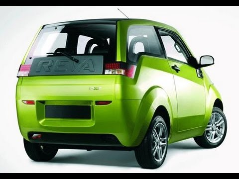 Mahindra Reva Small Electric Car First Look