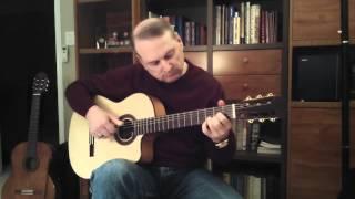 Blue Christmas - Acoustic Guitar (Cover)