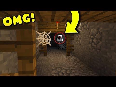 DON'T Explore Mineshafts at NIGHT! (Minecraft Pocket Edition)